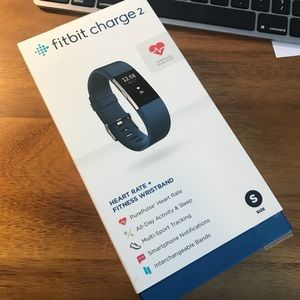 Fitbit Charge 2 (small) w/ extra band!
